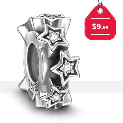 Stars Stopper 925 Sterling Silver, $9.99