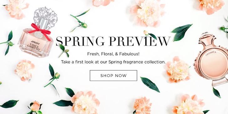 Perfumania - Spring Preview