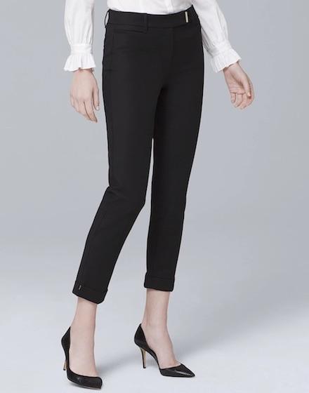 Slim Crop Pants, only $79