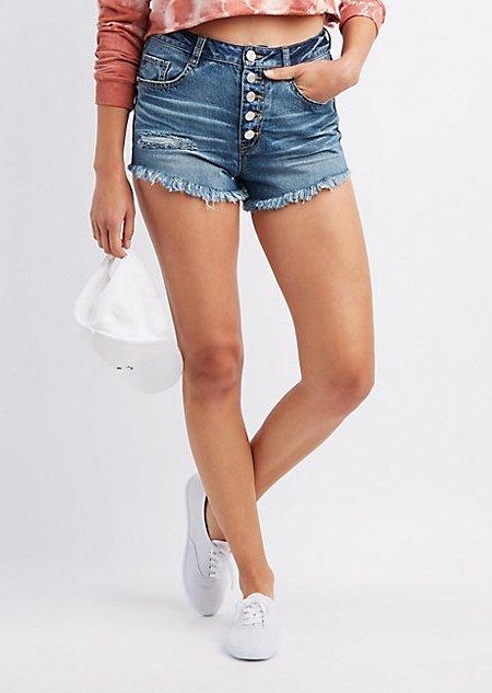Jean Shorts for Women