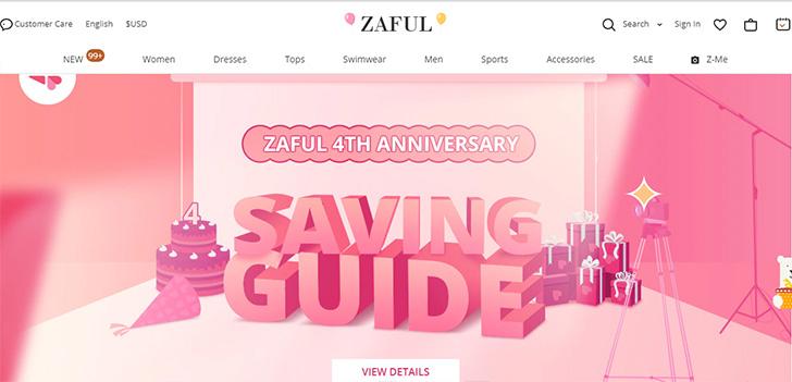 Zaful.com Home