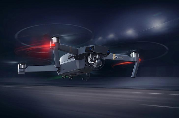 DJI Mavic Pro RC Quadcopter with 3-Axis Gimbal 4K Camera – Black