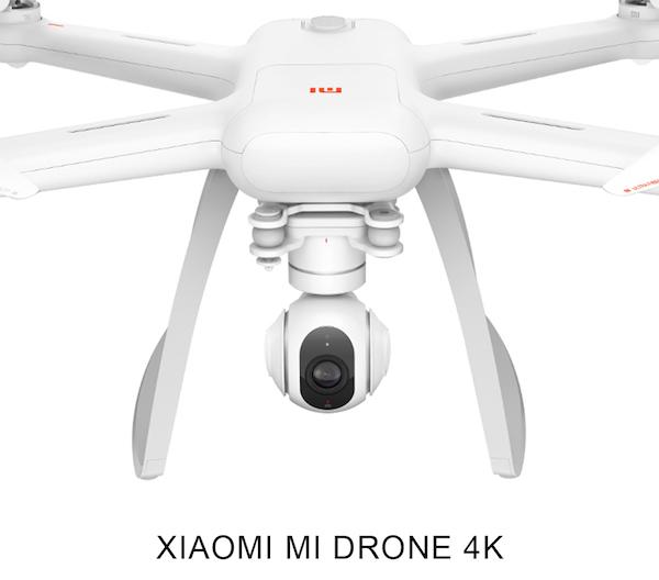 Original XIAOMI Mi Drone 4K Camera 30fps Wi-Fi FPV Quadcopter – White