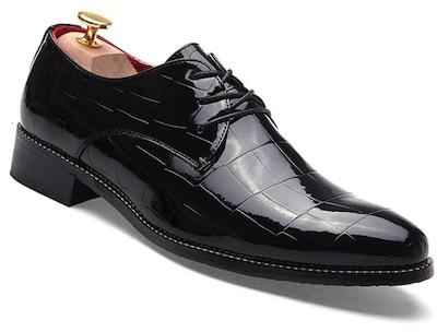 Black Men Business Gentle Wedding Dress Official Casual British Shoes