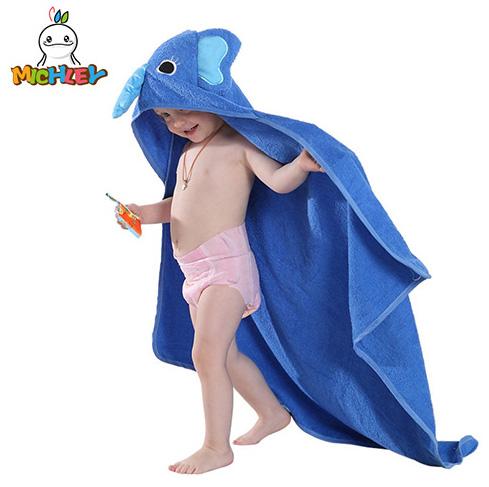 Spring Animal Hooded Bath Towel for Boys & Girls