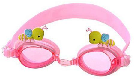 Swimming Goggles for Kids, 100% Silicone Straps