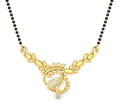 Mavis Gold Mangalsutra Pendant