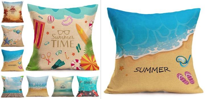 Summer Sunny Beach Cotton