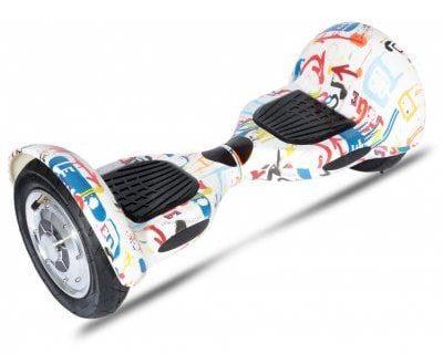 Hiwheel H9 Smart Hoverboard - WHITE EU PLUG