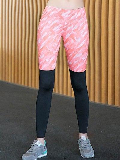 Tailor-Fit Printed Women Yoga Pant
