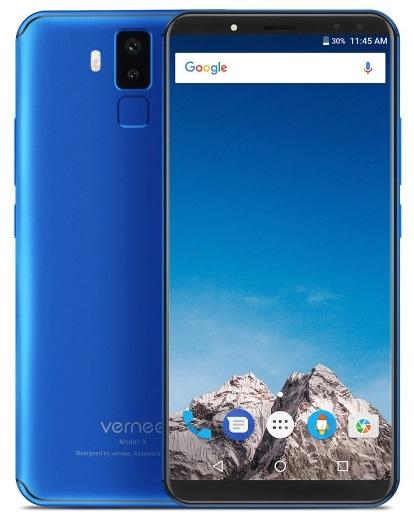 Vernee X 4G Mobile Phone 4GB+64GB (Blue)