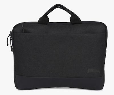 Wildcraft Black Polyester Laptop Bag