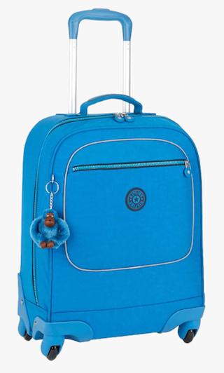 Kipling Blue Polyamide Soft Strolley