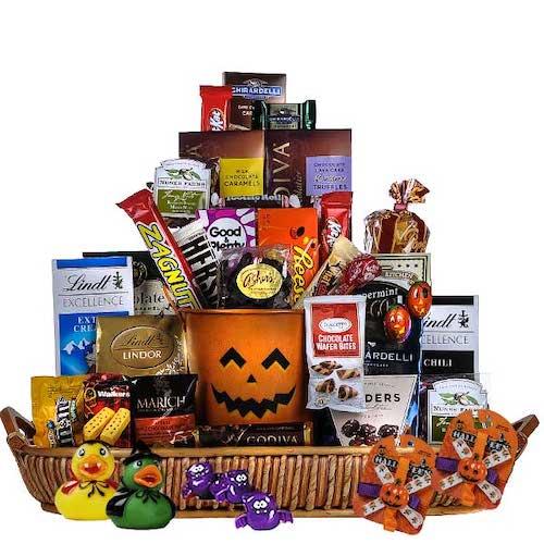 Grand Halloween Basket