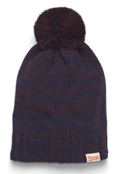 HOMAGE Marled Knit Hat