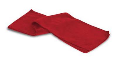 Polar Fleece Scarf - Red