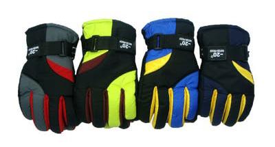 Kids Nylon Waterproof Ski Glove