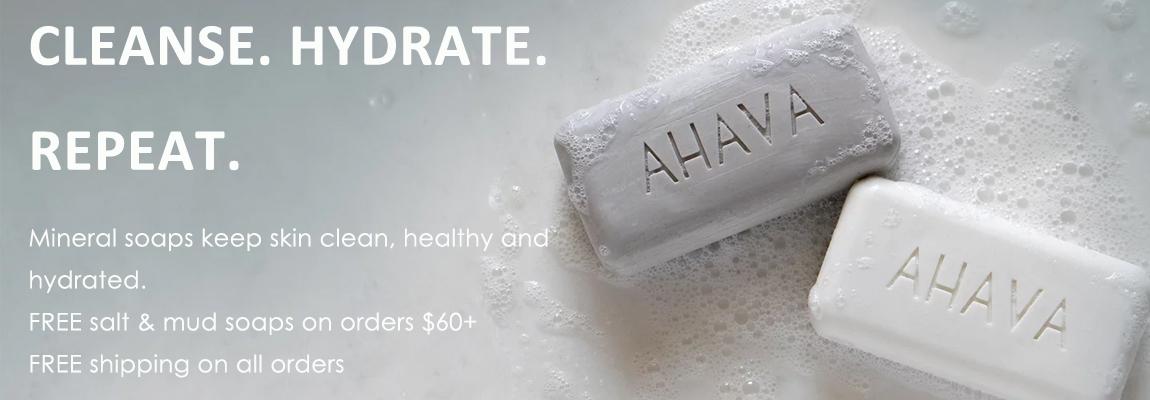 Ahava Cleanse. Hydrate. Repeat.