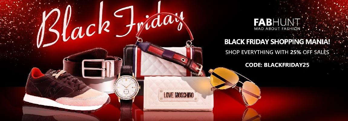 Fabhunt Black Friday Shopping Mania!