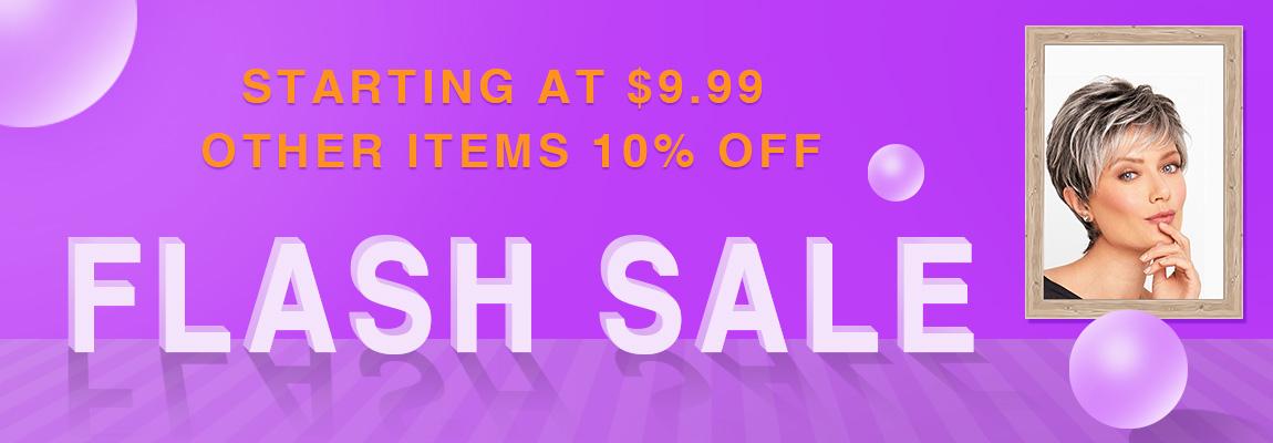 文案:FLASH SALE - STARTING AT $9.99 + OTHER ITEMS 10% OFF