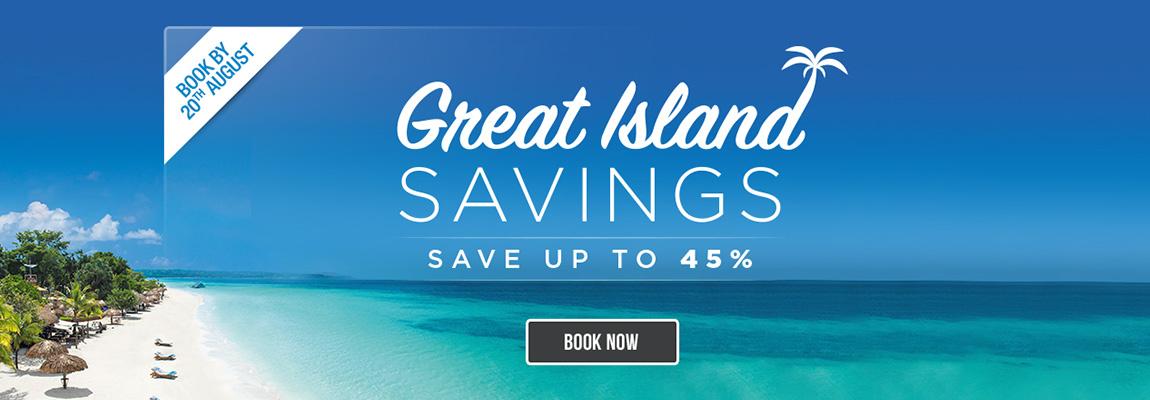 Great Island - Saving Up To 45%
