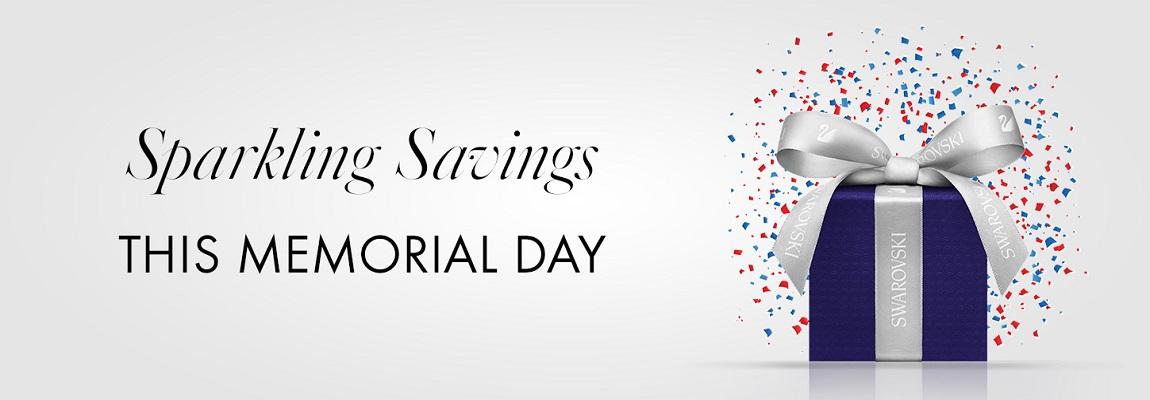 Sparkling Savings This Memorial Day!