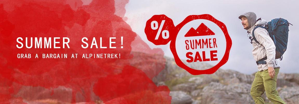 Summer Sale! Grab a Bargain at Alpinetrek!