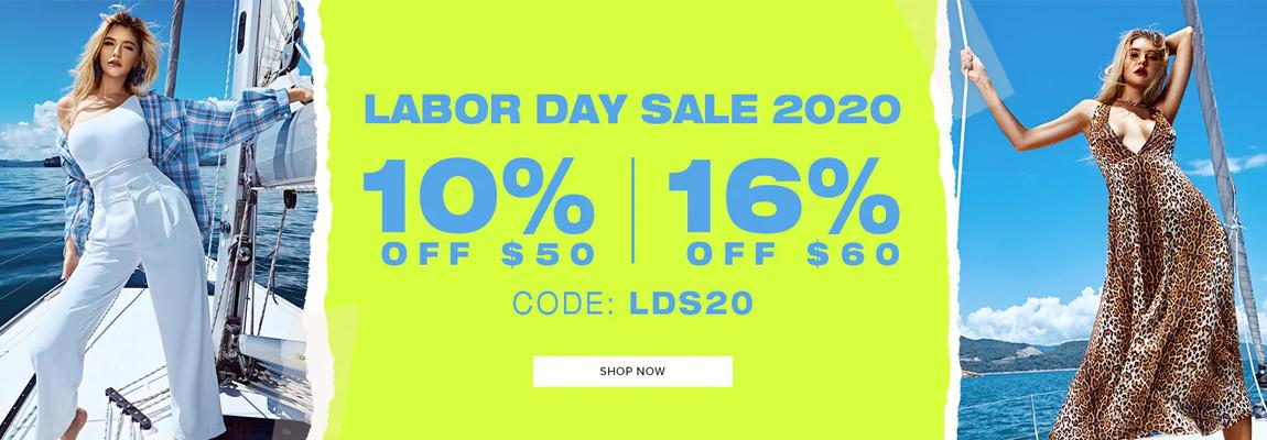 Zaful Labor Day Sale 2020