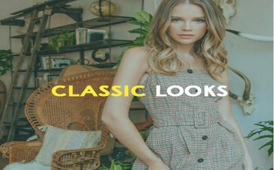 Women's Vintage Styles - Classic Looks