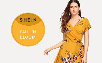 Shein Fall in Bloom Lead the Trendy