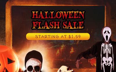 Halloween Flash Sale - Starting at XXX