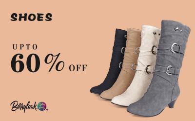 Berrylook High Heels Boots - Up to 60% Off