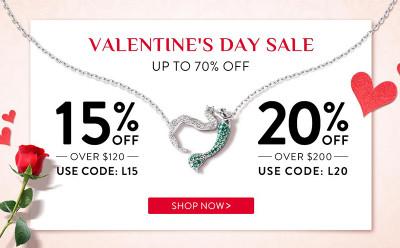 Jeulia Valentine's Day Sale - Up To 70% OFF