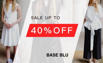 Base Blu Public Sale 40% Off Sitewide!