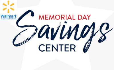 Walmart Memorial Day Saving Sales