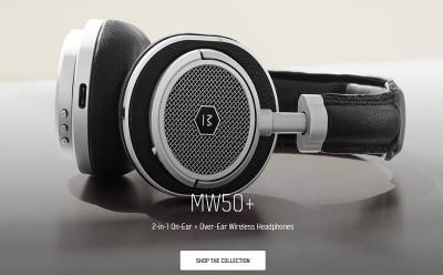 Master & Dynamic 2-In-1 Wireless On-Ear + Over-Ear Headphones