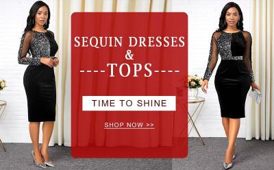 Rotita Sequin Dresses & Tops