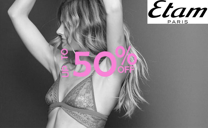 Etam On Sale - Up to 50% Off Lingerie