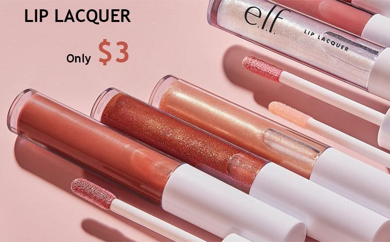 E.l.f. Cosmetics Lip Lacquers Only $3
