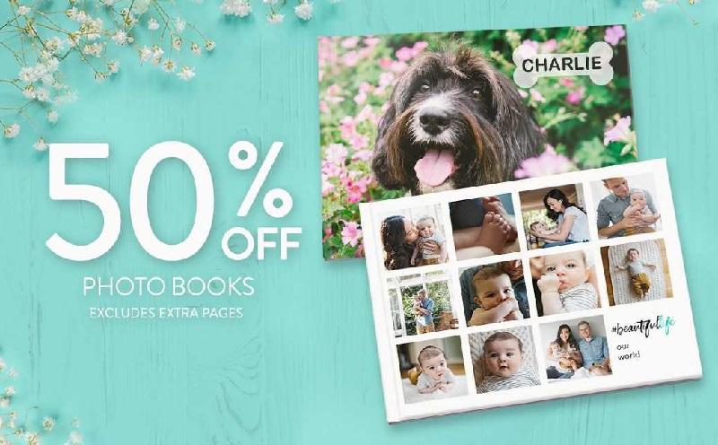Snapfish - 50% OFF PHOTO BOOKS