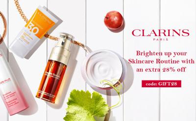 Clarins Skincare Extra 28% OFF