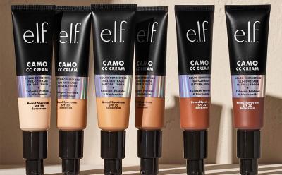 E.l.f. Cosmetics End Of Season Sale 60% Off