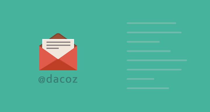 Contact Dacoz via Email Form